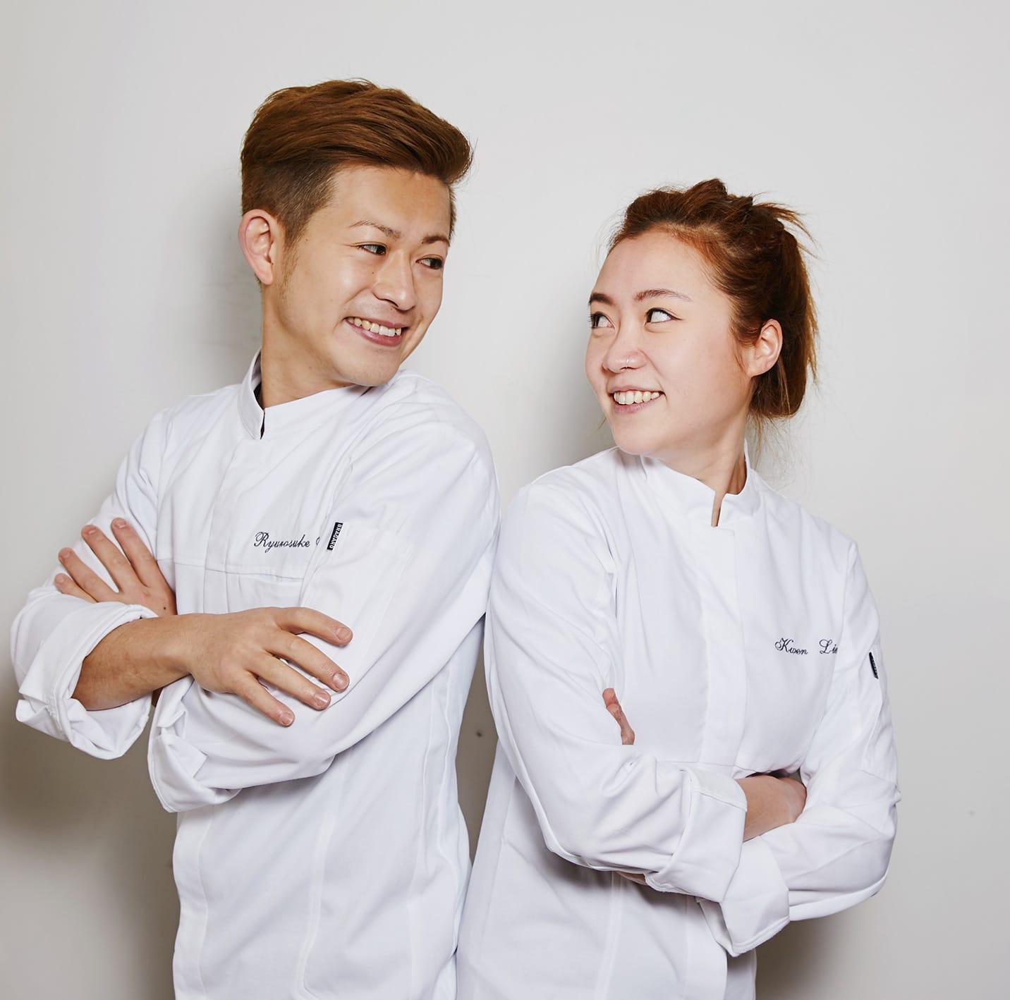 Ryu Naito et Kwen Liew - les chefs
