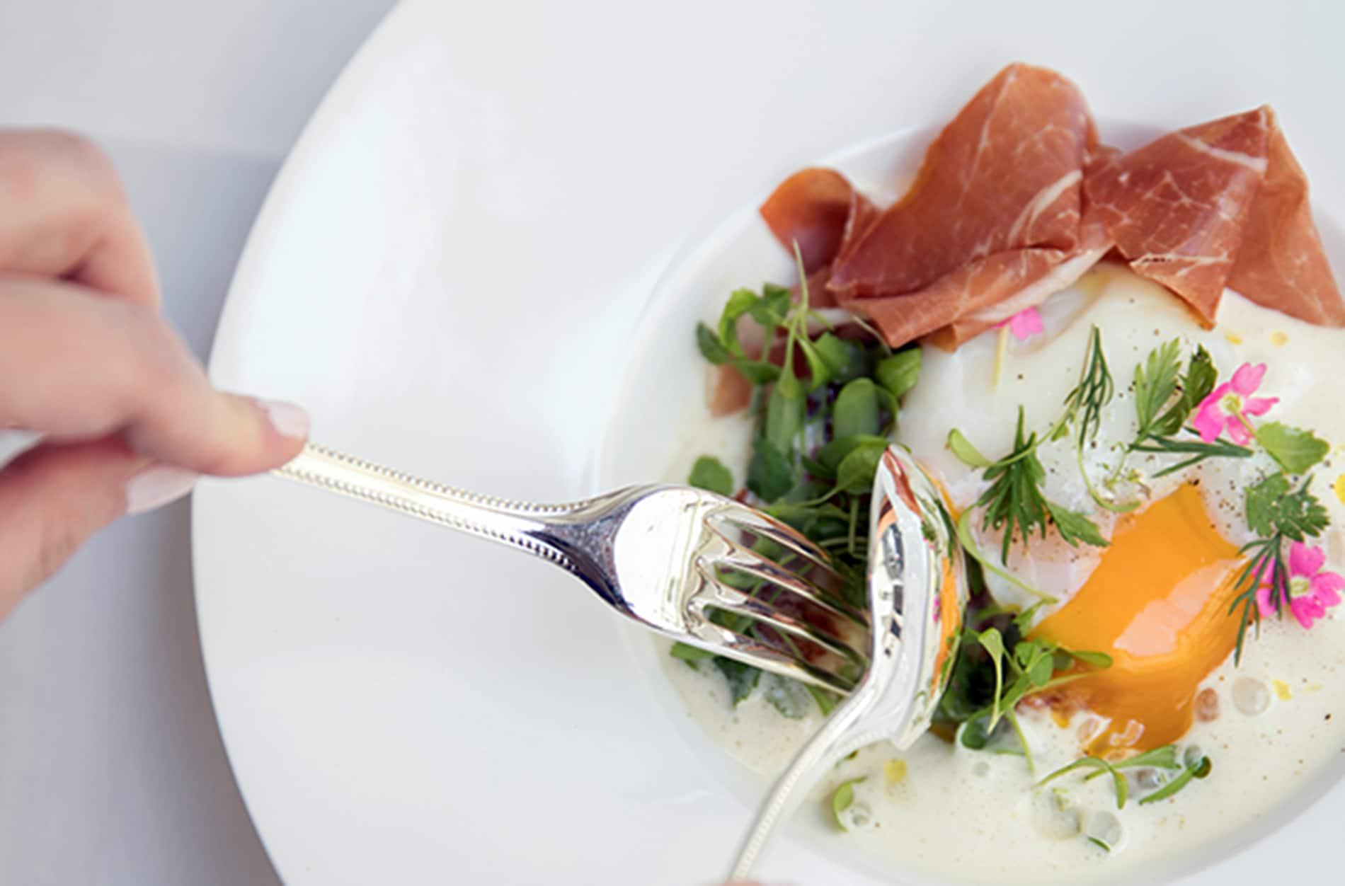 Restaurant Pertinence - Plats : Risotto croustillant