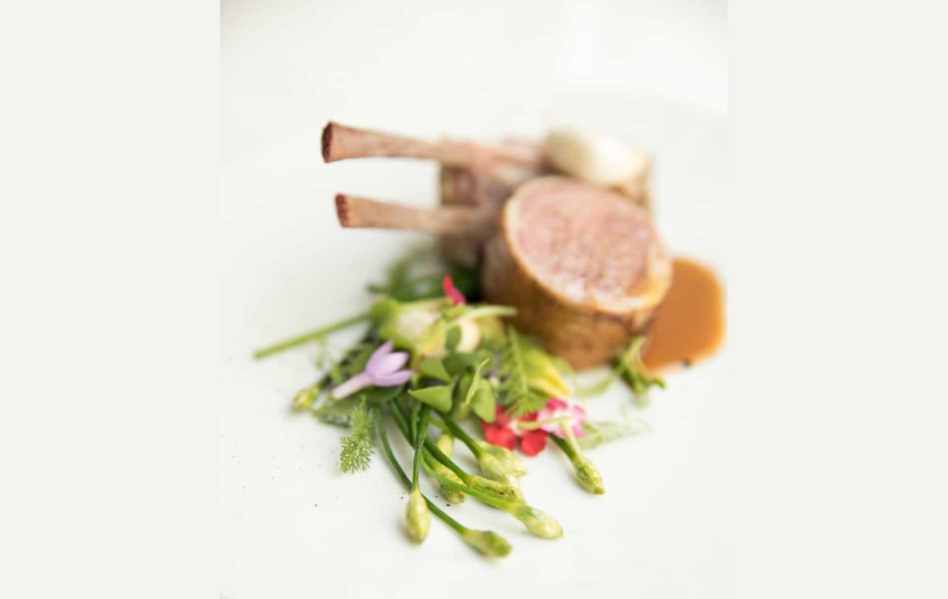 Restaurant Pertinence - Plats : Agneau rôti