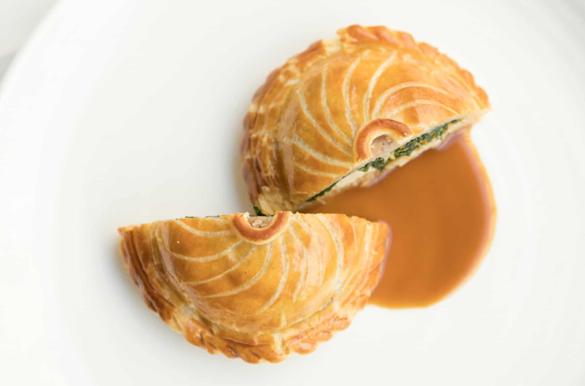 Restaurant Pertinence - Plats : Tourte Ris de Veau